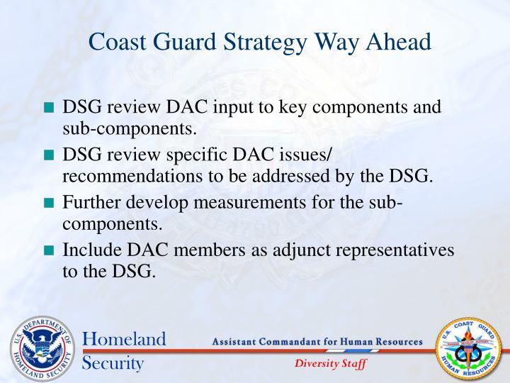 Coast Guard Strategy Way Ahead