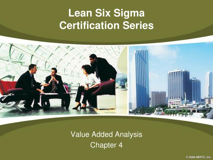 value added analysis chapter 4