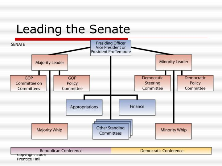 Leading the Senate