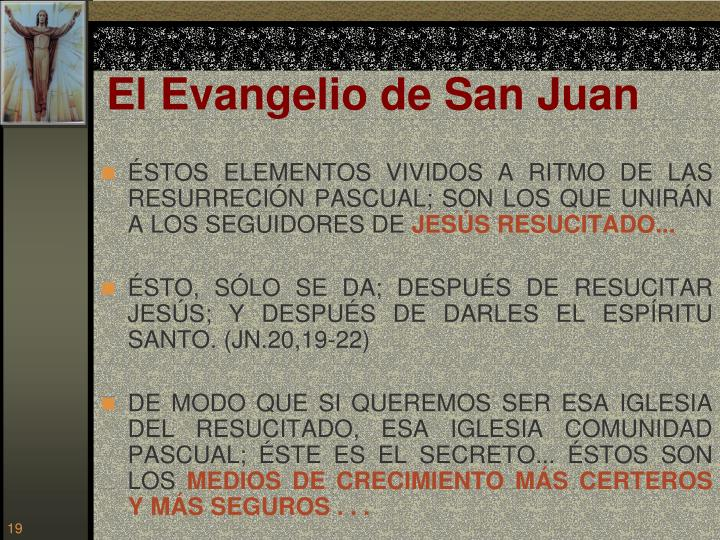 El Evangelio de San Juan