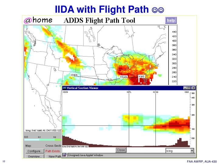IIDA with Flight Path