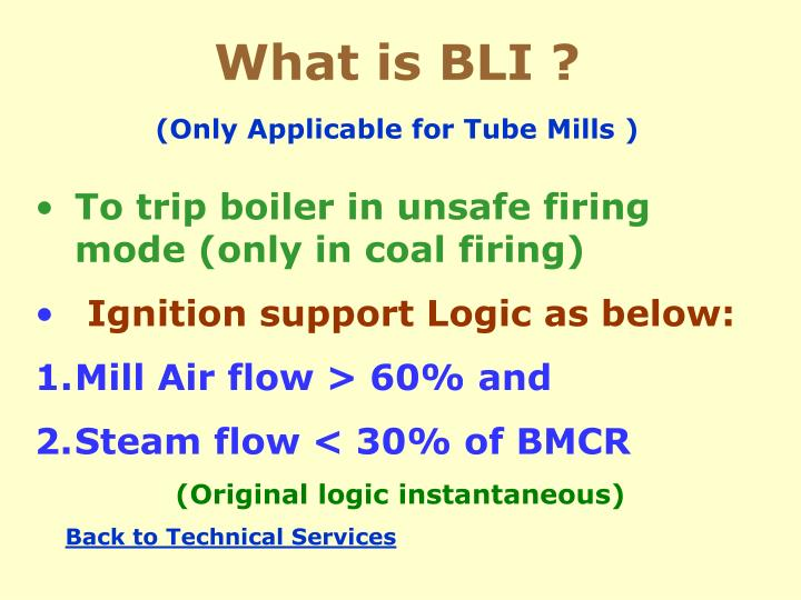 What is BLI ?