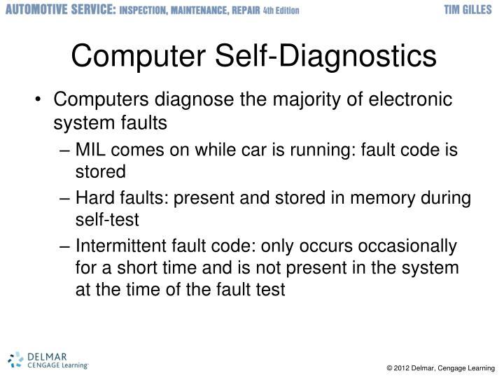 Computer Self-Diagnostics