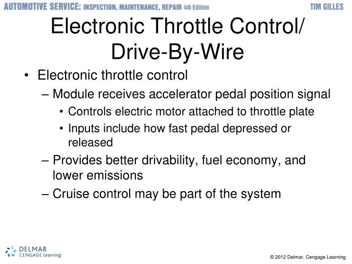 Electronic Throttle Control/