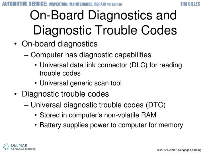 On-Board Diagnostics and