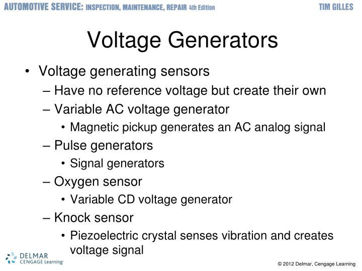 Voltage Generators