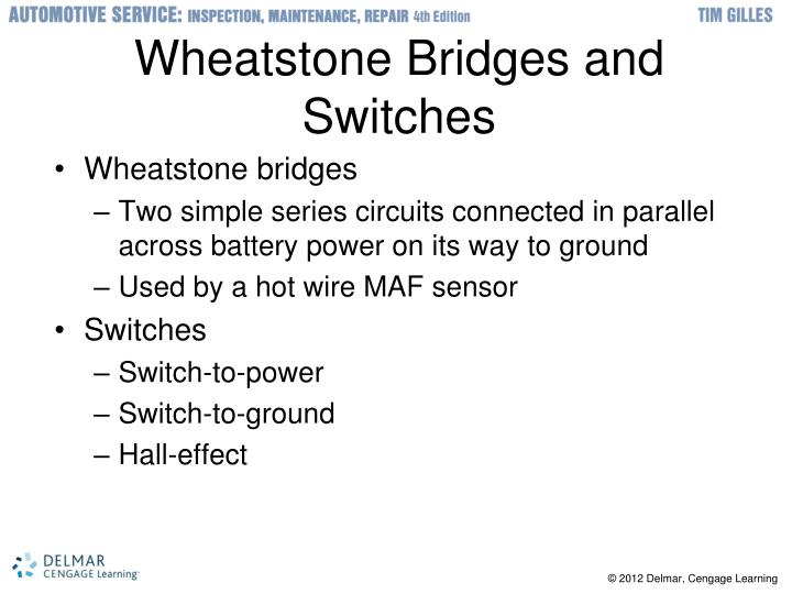 Wheatstone Bridges and