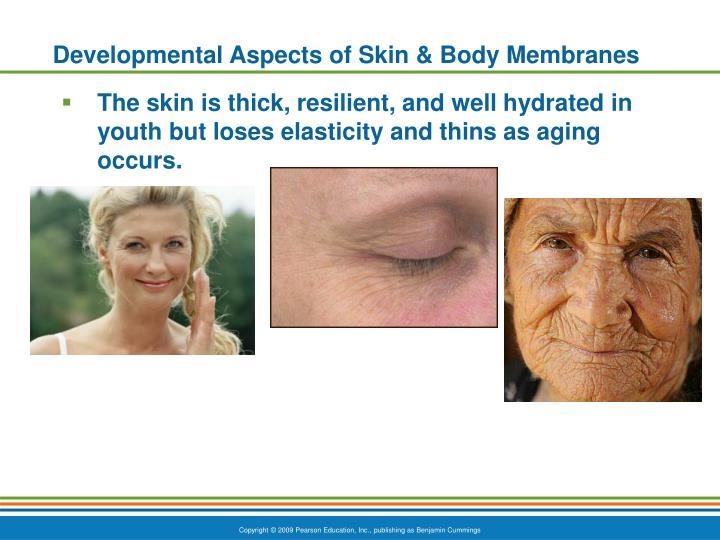 Developmental Aspects of Skin & Body Membranes