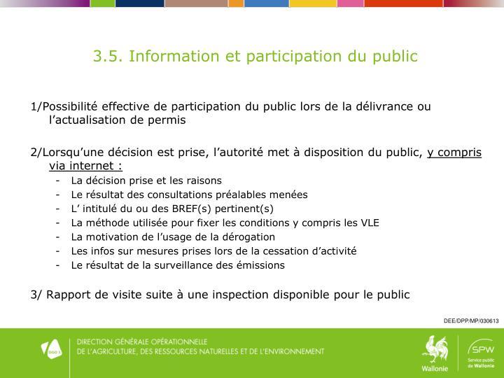 3.5. Information
