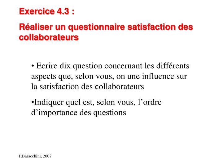 Exercice 4.3 :