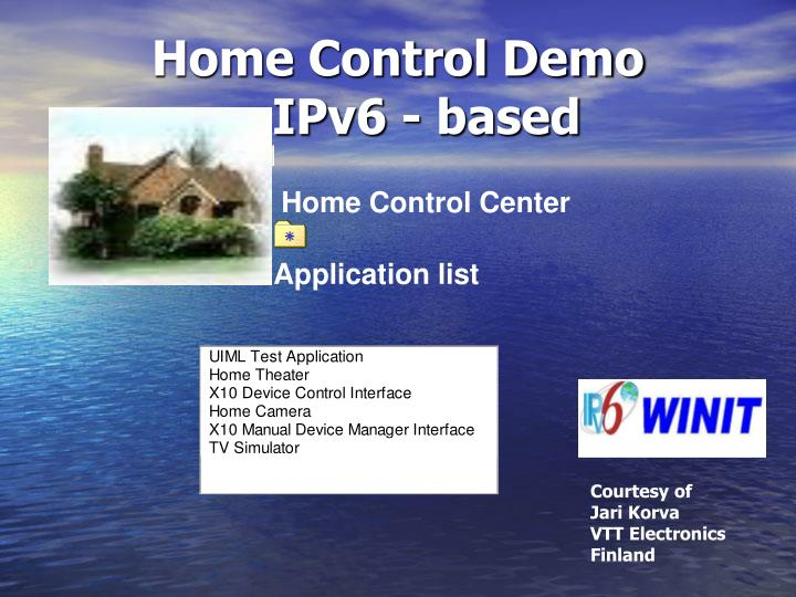 Home Control Demo