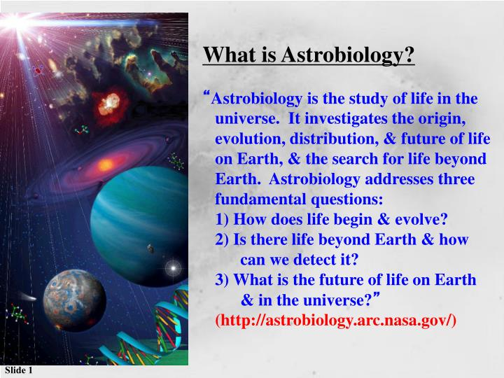 Astrobiology dictionary definition  astrobiology defined