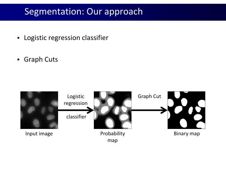 Segmentation: Our approach