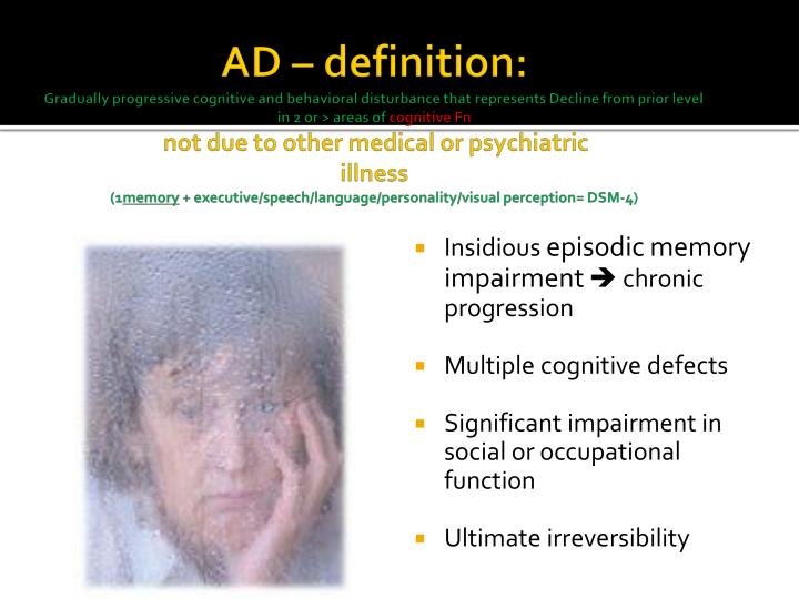 AD – definition:
