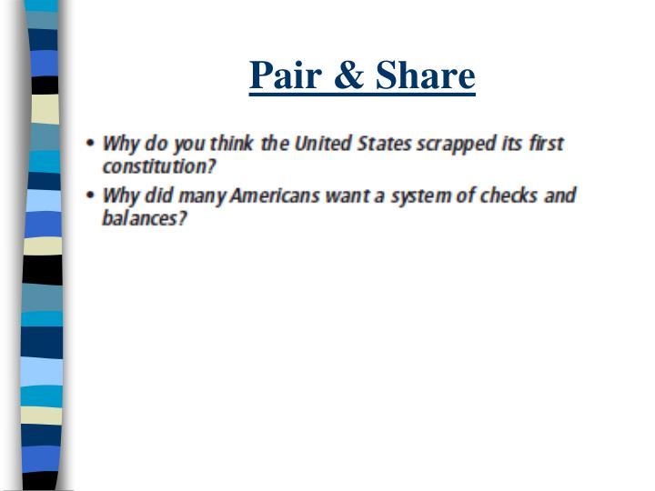 Pair & Share