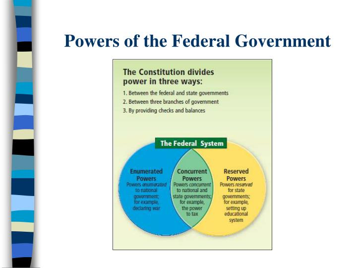 Powers of the Federal Government