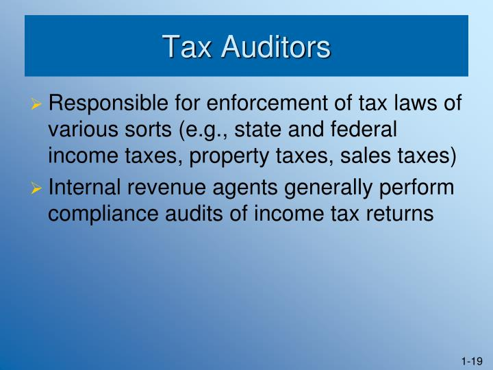 Tax Auditors