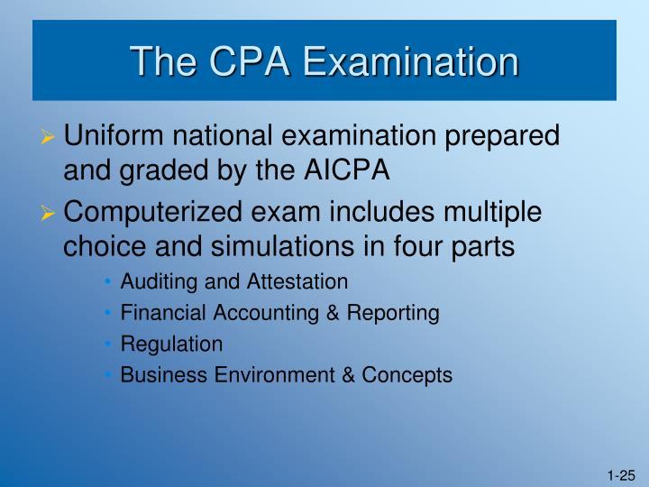 The CPA Examination