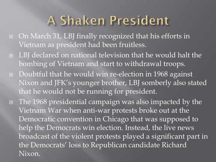A Shaken President