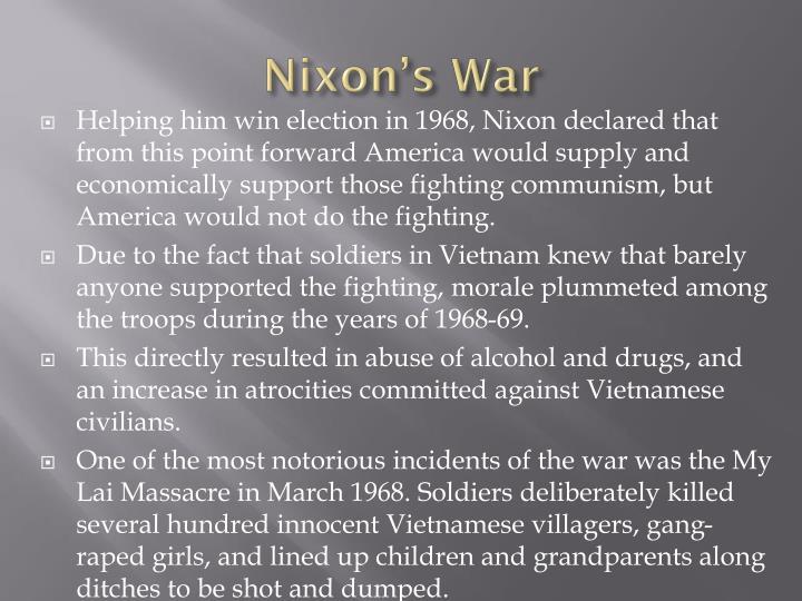 Nixon's War