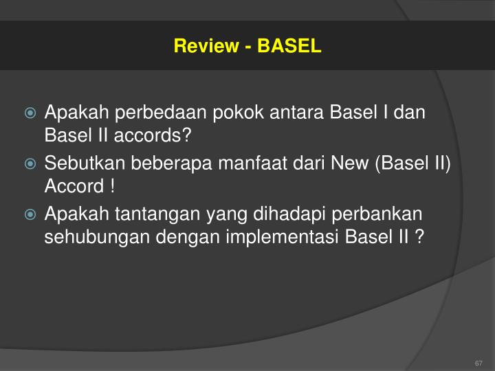 Review - BASEL