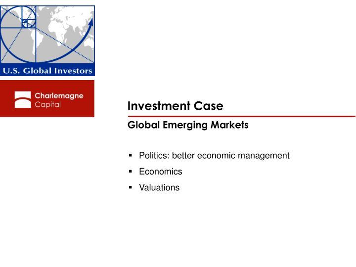 Investment Case