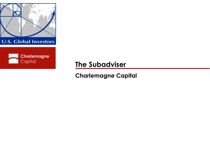 The Subadviser