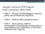 vanpool incentive ntd program draft consultant work tasks3