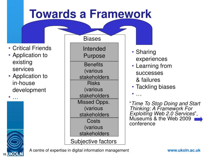 Towards a Framework