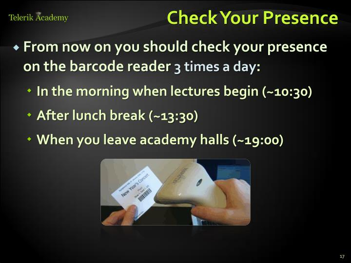 Check Your Presence