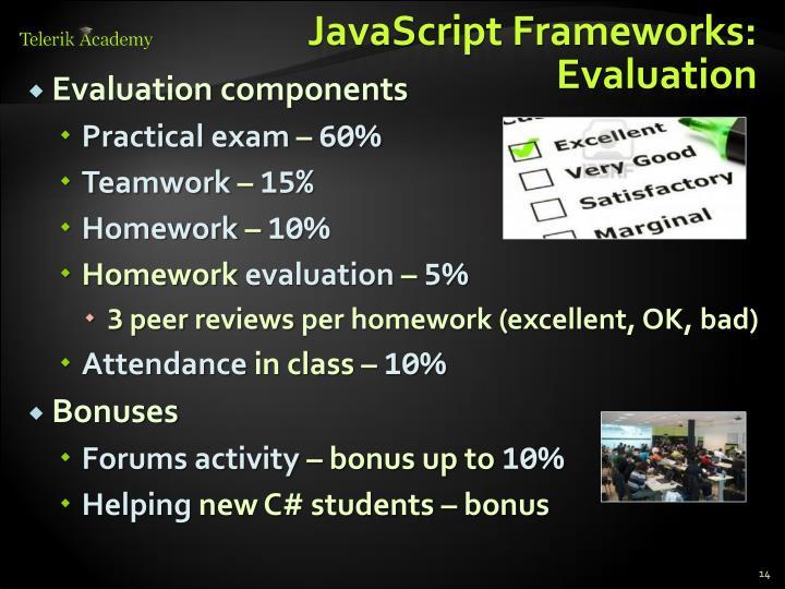 JavaScript Frameworks: