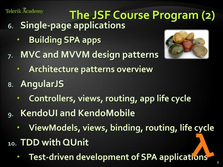 The JSF Course