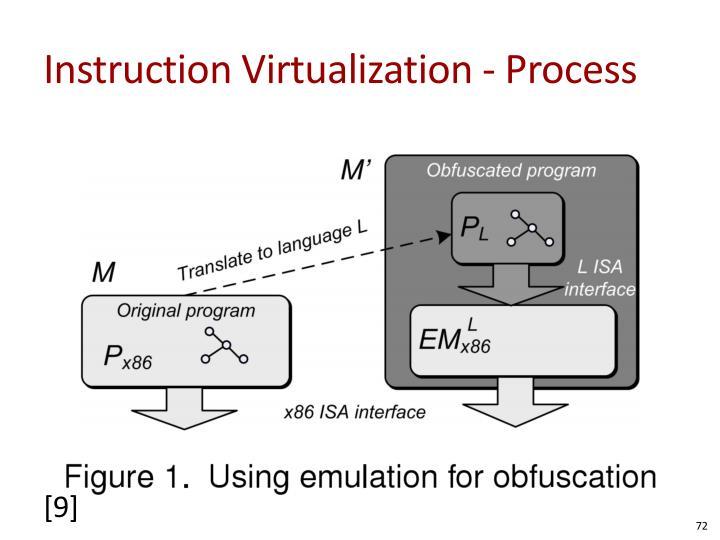 Instruction Virtualization - Process
