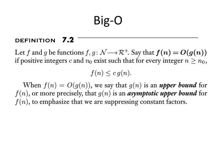 Big-O