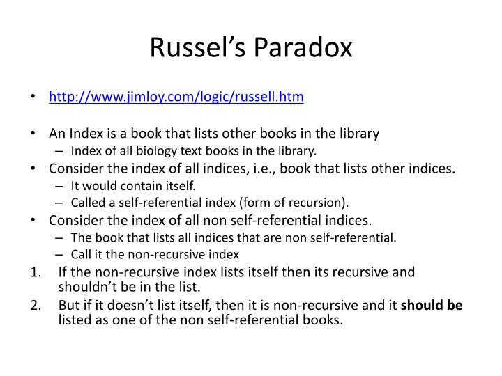 Russel's