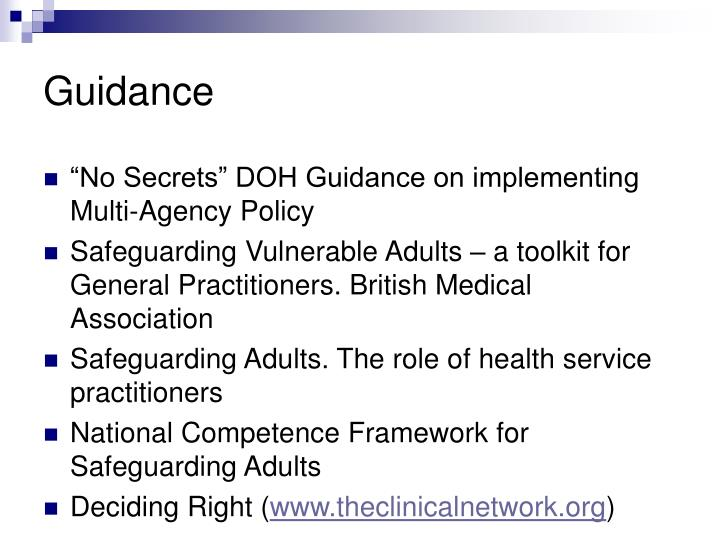 abuse and medical association safeguarding However, an important finding is that although 12% of community midwives encountered a 'definite' case of child abuse, only 2% reported the abuse, leaving a 10% gap between reporting and identifying definite cases of child abuse.