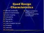 good design characteristics9