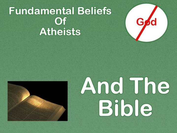 Atheism lack of belief in gods