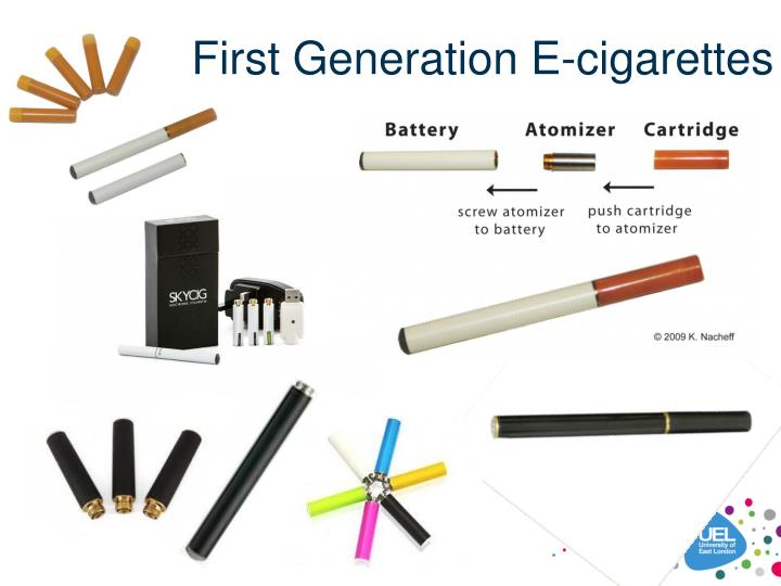 First Generation E-cigarettes