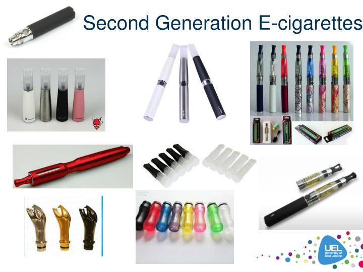 Second Generation E-cigarettes