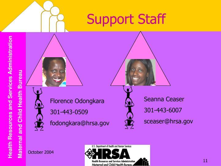 Support Staff