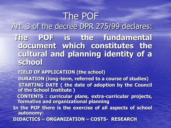 The POF