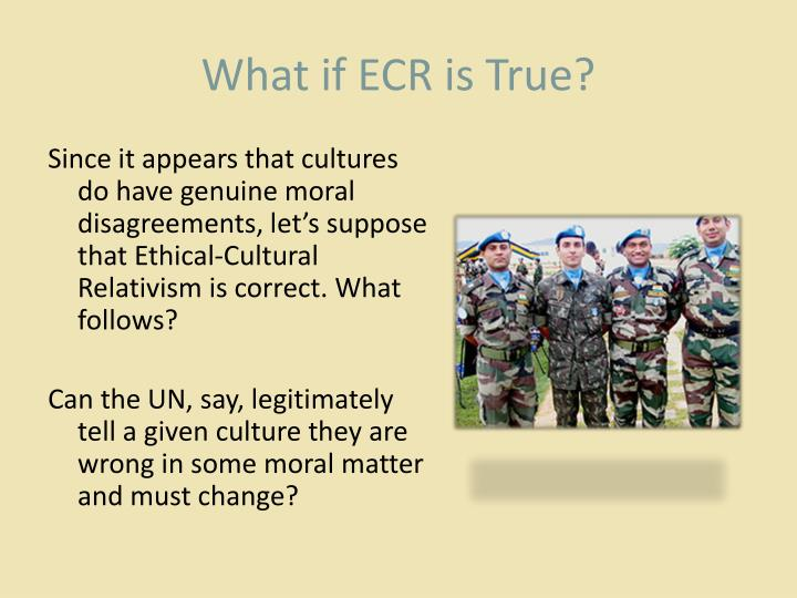 What if ECR is True?