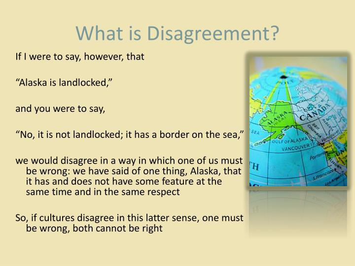 What is Disagreement?