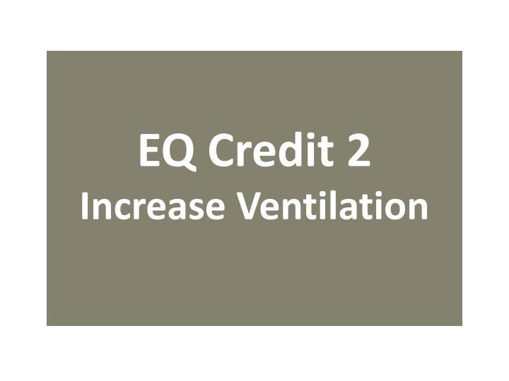 EQ Credit 2