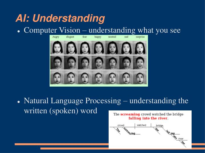 AI: Understanding