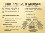 doctrines teachings