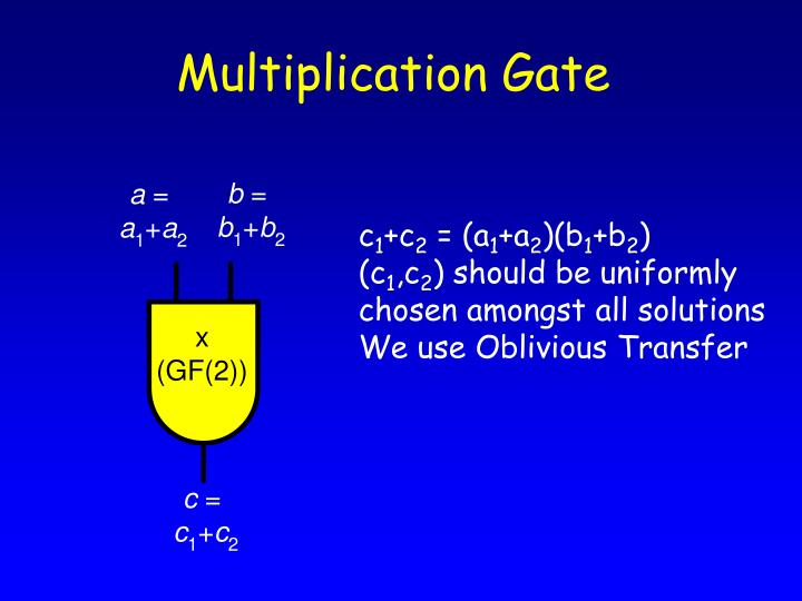 Multiplication Gate