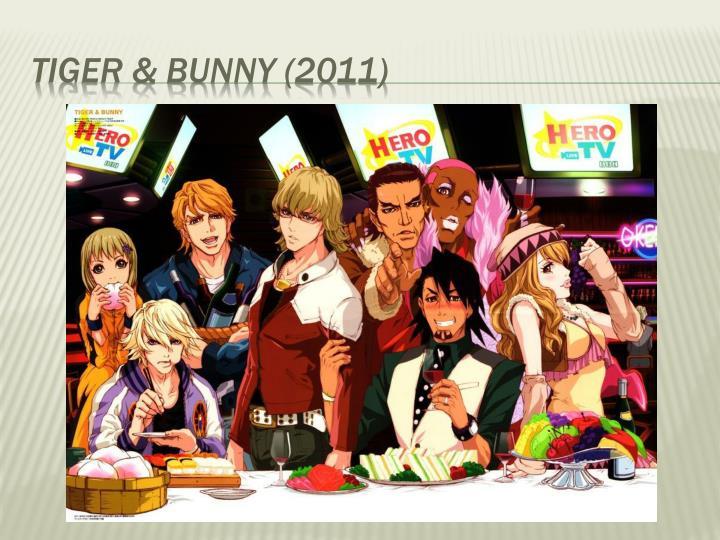 Tiger & Bunny (2011)