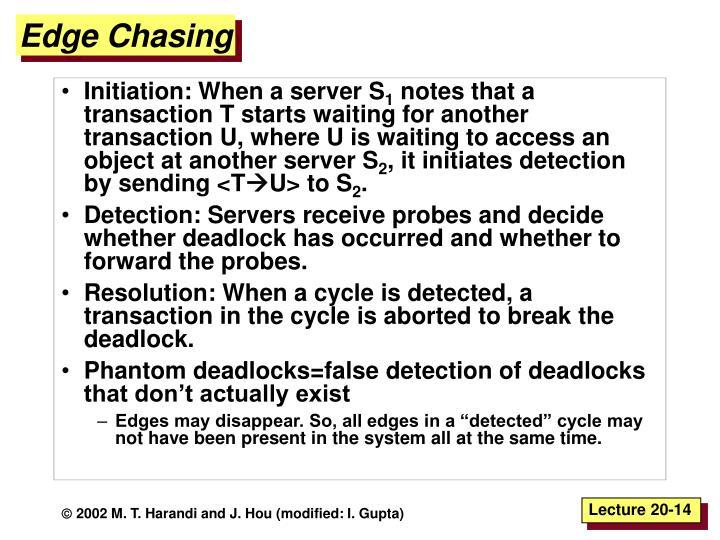 Edge Chasing